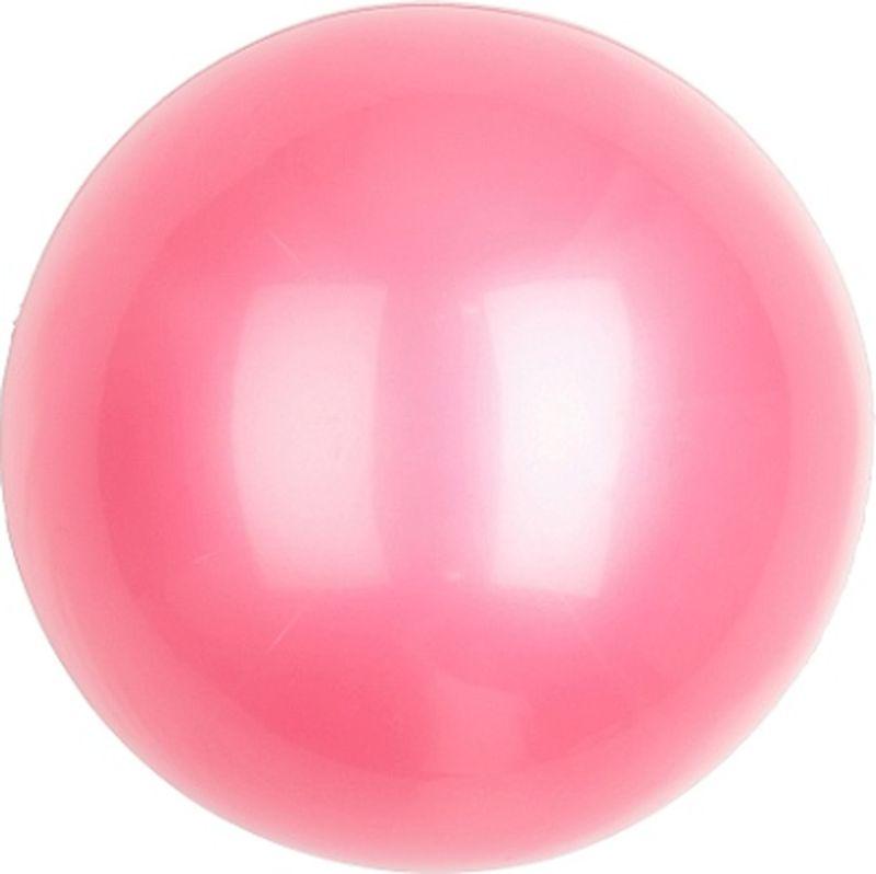 Мяч гимнастический Larsen, цвет: розовый, диаметр 15 см мяч гимнастический larsen цвет синий диаметр 19 см