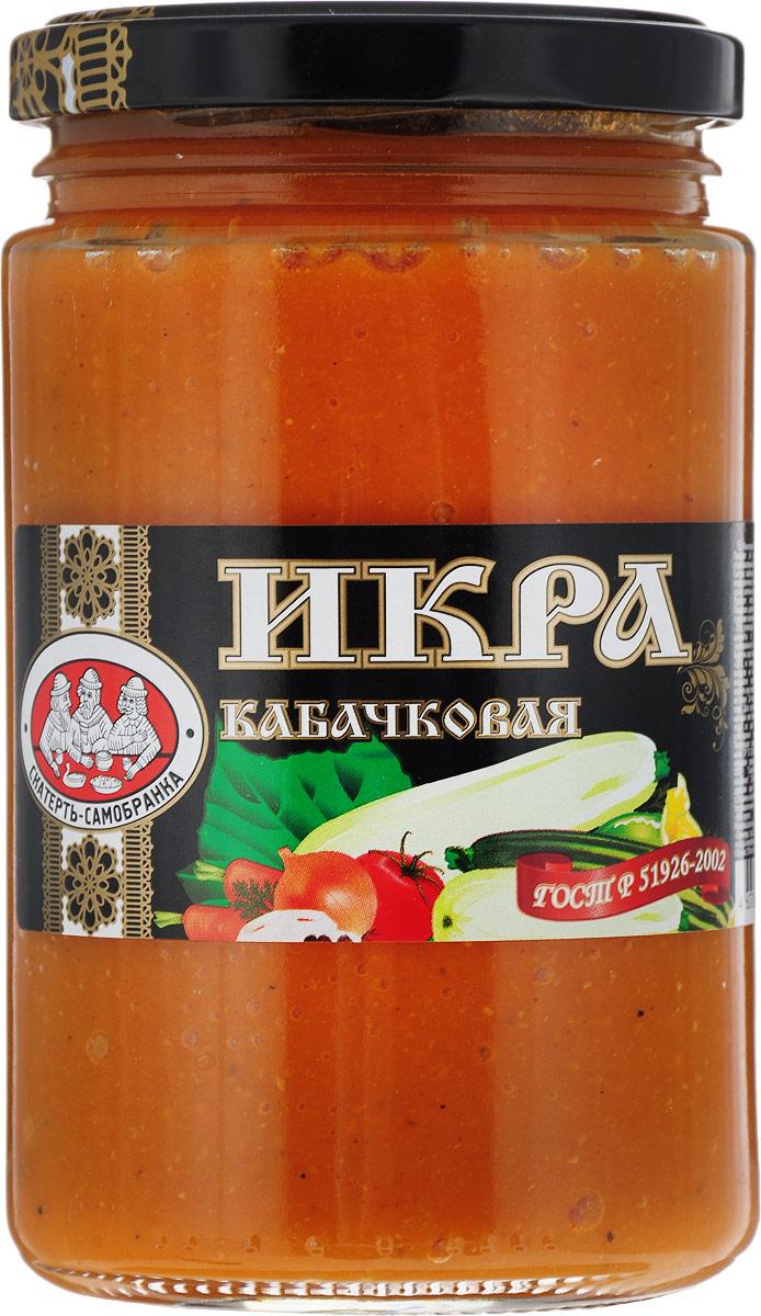 Скатерть-Самобранка икра из кабачков, 370 мл цены