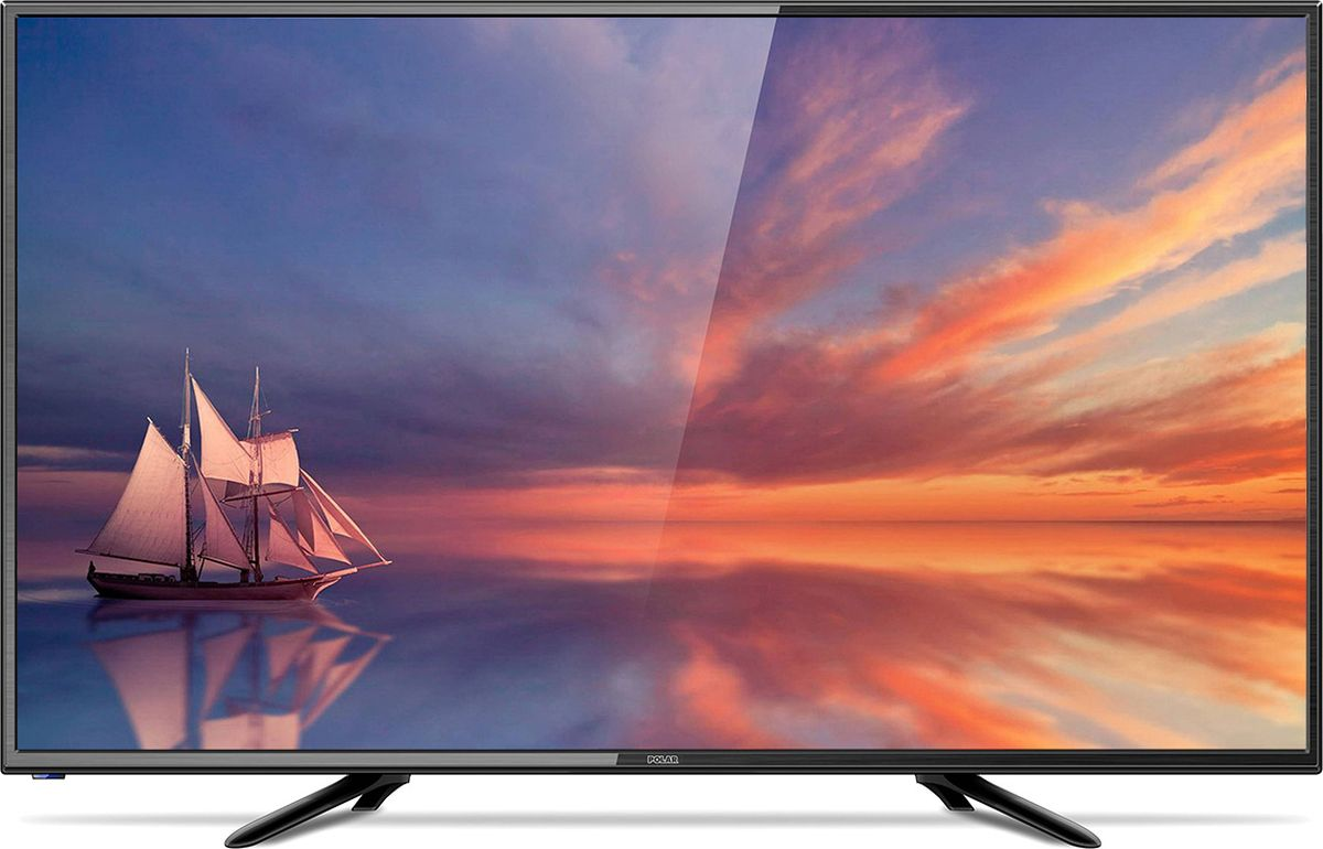Телевизор Polar P32L21T2SC 32, черный телевизор polar p49l21t2c 49