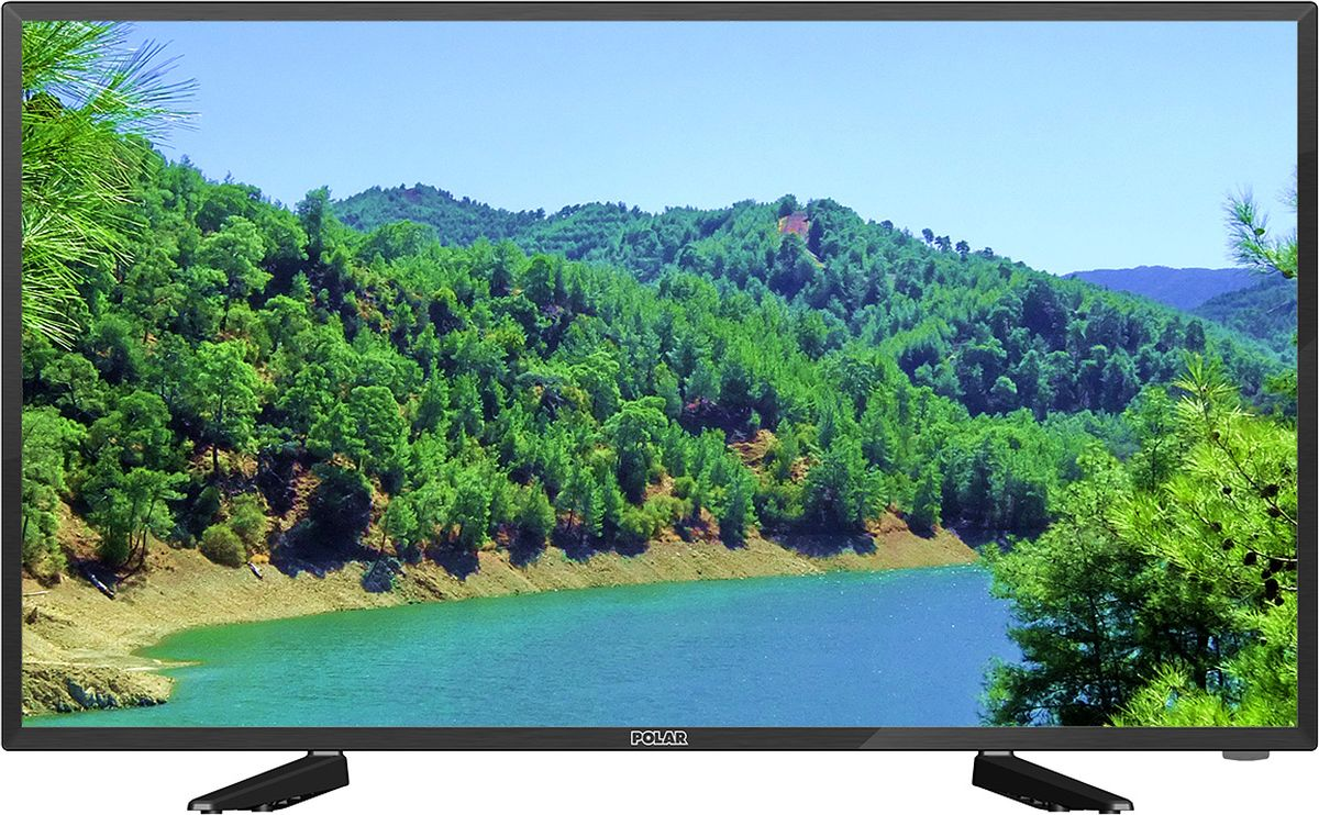 "Телевизор Polar P40L21T2C 40"", черный"