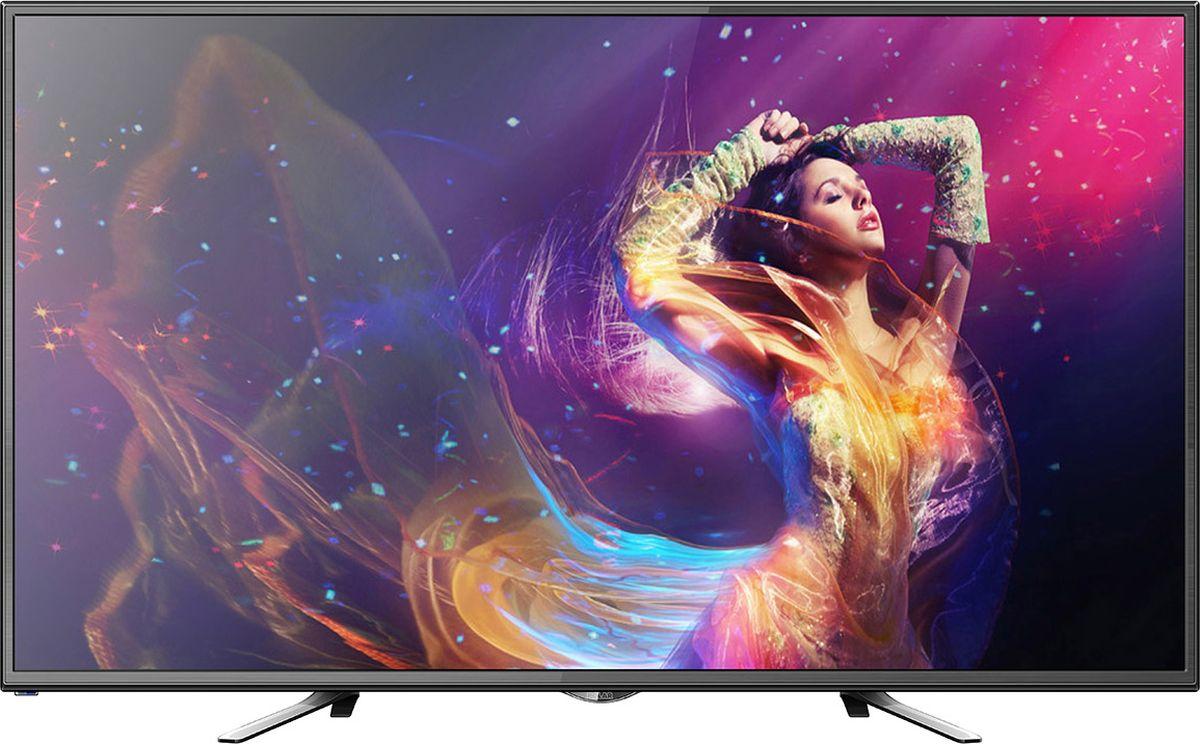 Телевизор Polar P48L21T2C 48, черный телевизор polar p49l21t2c 49