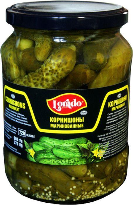 Lorado Корнишоны маринованные 3-6 см, 720 мл lorado томаты маринованные 720 мл