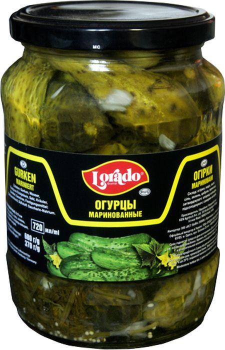 Lorado Огурцы маринованные 6-9 см, 720 мл lorado томаты маринованные 720 мл