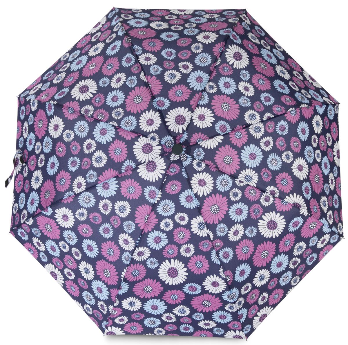 Зонт женский Baudet, полуавтомат, 3 сложения, цвет: темно-фиолетовый. 10598-4 цены онлайн