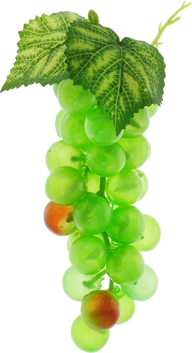 Муляж Engard Гроздь винограда, цвет: зеленый, 17 см муляж engard гранат 9 см