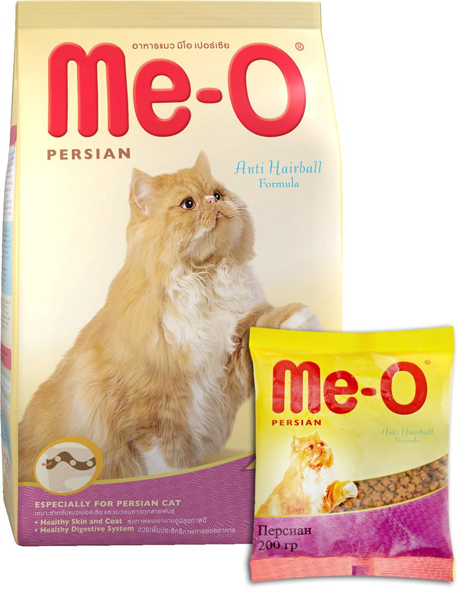 Корм сухой PCG Ме-О, для персидских и других длинношерстных кошек, 200 г, 35 шт витамины daily max