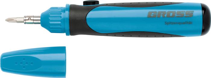 Отвертка реверсивная Gross, с механизмом SmartPush mini, 11 шт отвертка реверсивная с битами gross smartpush mini 11609