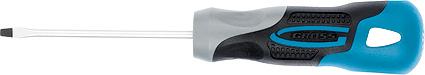Отвертка Gross, 3-компонентная рукоятка, SL3,0 x 75 мм