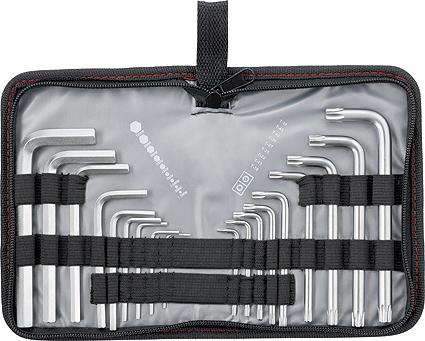 Набор имбусовых ключей Matrix Hex-Torx, коротких, 1,5–10 мм/T10-T50, 18 шт набор имбусовых ключей matrix hex экстра длинных с шаром 1 5 10 мм 9 шт