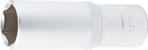 Головка торцевая Stels, удлиненная, 6-граннная, под квадрат 1/2, 19 мм головка торцевая stels удлиненная 6 граннная под квадрат 1 2 22 мм