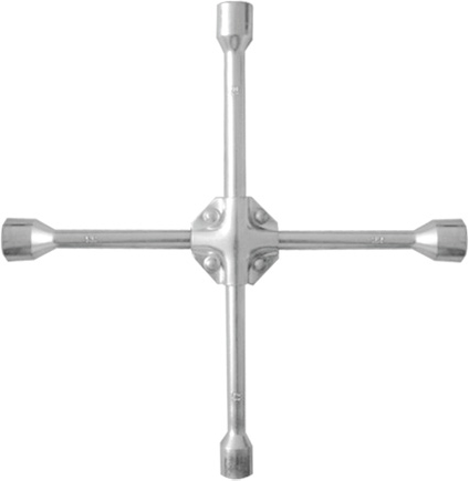 Ключ баллонный Matrix Professional, крест, усиленный, 17 х 19 х 21 х 22 мм ключ крест баллонный 17 х 19 х 21 х 22 мм усиленный толщина 16 мм matrix professional