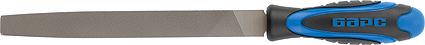 Напильник плоский Барс, 2-компонентная рукоятка, 20 см напильник круглый кобальт 247 613 двухкомпонентная рукоятка 3 150мм подвес