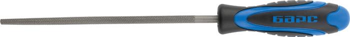 Напильник Барс, круглый, 20 см напильник круглый кобальт 247 613 двухкомпонентная рукоятка 3 150мм подвес