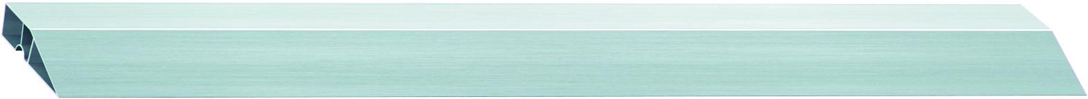 Правило алюминиевое Сибртех Трапеция, 2 ребра жесткости, длина 1 м правило сибртех 89604 алюминиевое трапеция 2 ребра жесткости l 2 5 м