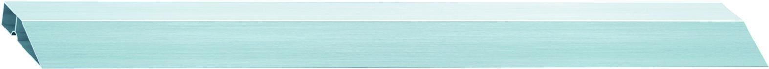 Правило алюминиевое Сибртех Трапеция, 1 ребро жесткости, длина 1 м правило сибртех 89604 алюминиевое трапеция 2 ребра жесткости l 2 5 м