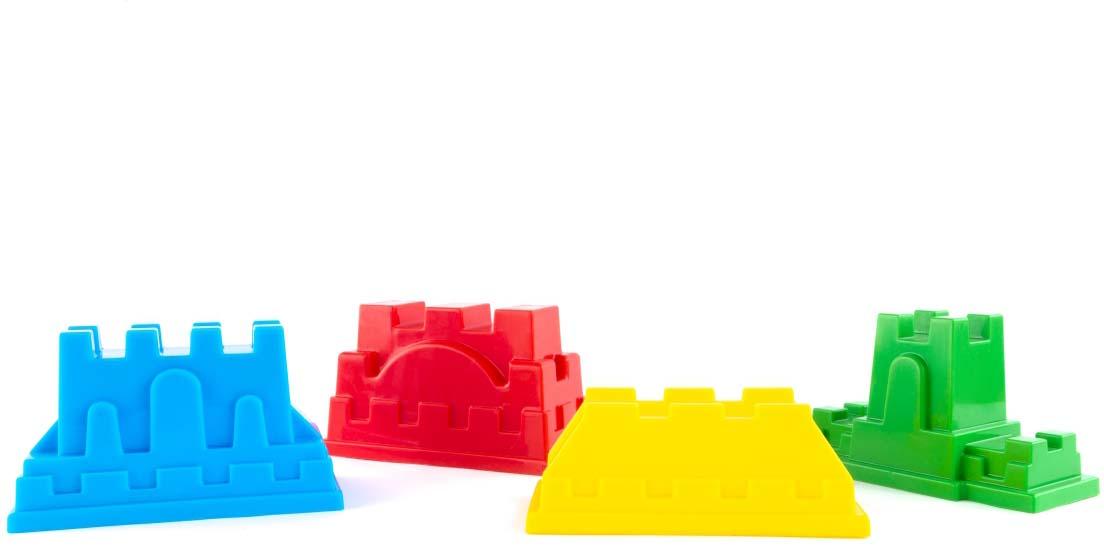 Пластмастер Набор формочек для песочницы Крепость игра пластмастер ланч 21029