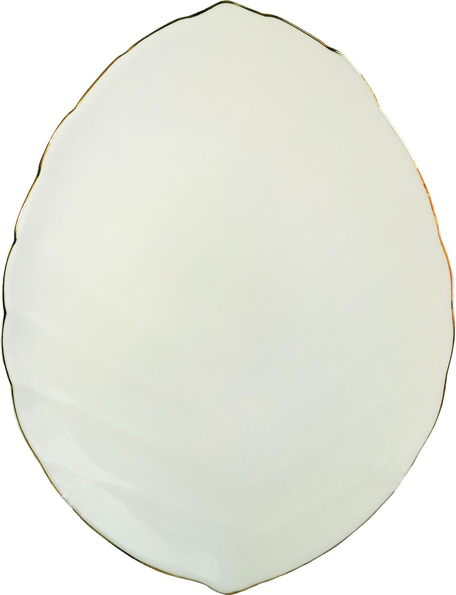 Тарелка обеденная Chinbull Овацио, 23 х 17 см тарелка обеденная chinbull нанси диаметр 24 см