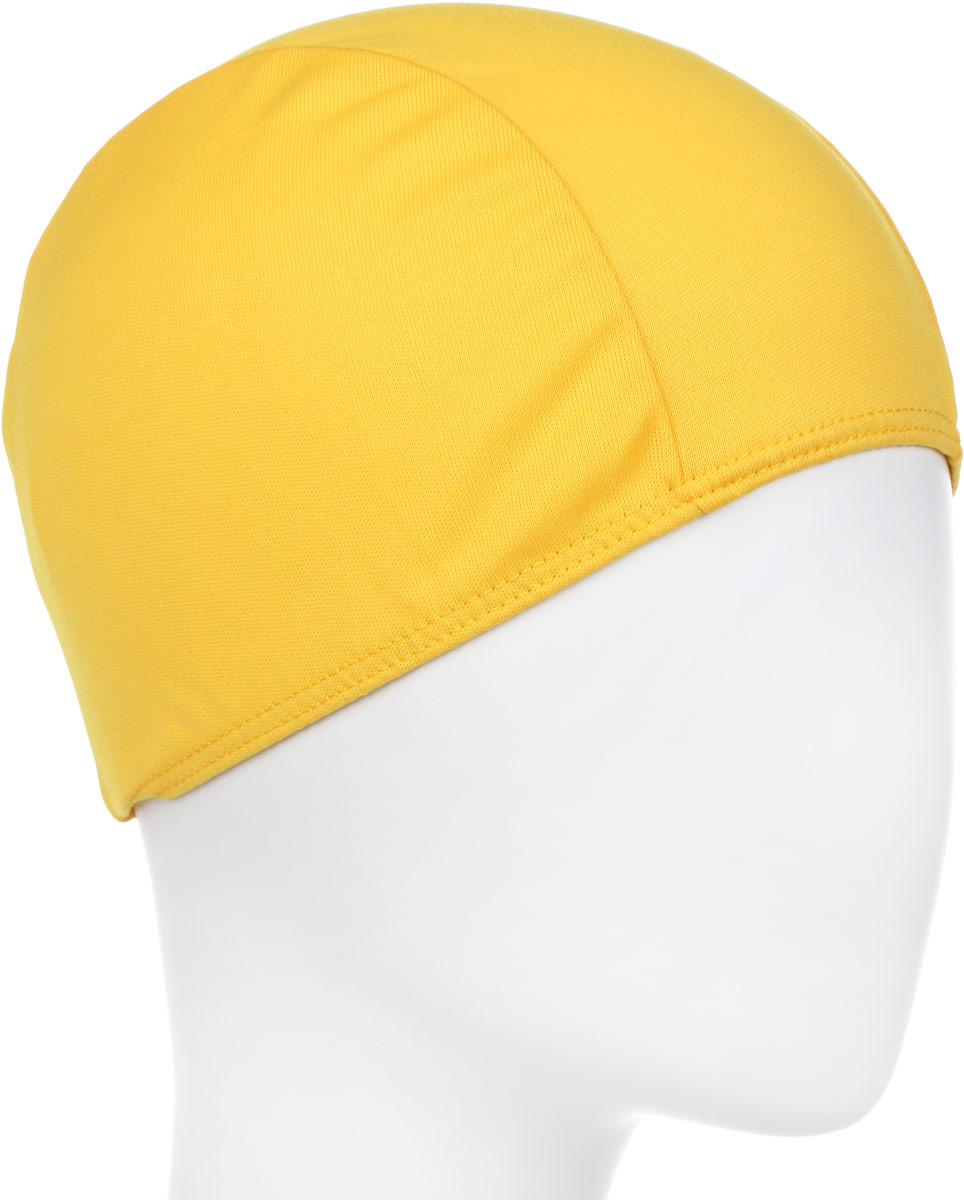 Шапочка для плавания детская Larsen, цвет: желтый шапочка для плавания larsen цвет белый красный ls76