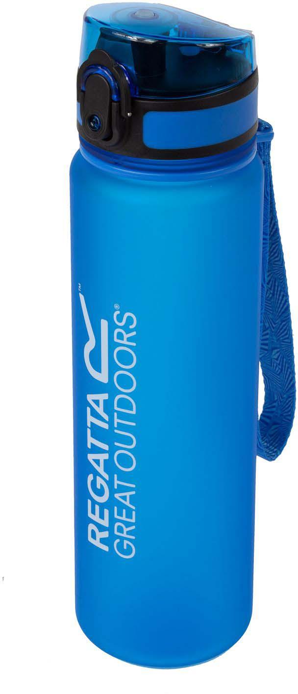 Фляга спортивная Regatta Tritan Flip. цвет: синий, 600 млRCE128_синийБутылка для напитков, облегченный пластик Tritan. Не содержит компоненты, выделяющие Бисфенол-А (BPA free). Герметичный захлопывающийся клапан, деления для определения объема жидкости. Идеально подходит для холодных напитков.
