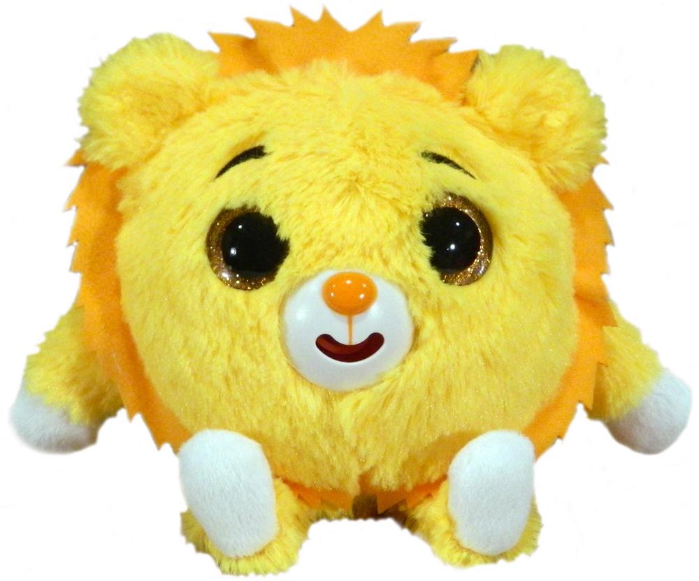 1TOYМягкая озвученная игрушка Дразнюка-Zoo Львенок 13 см 1toyмягкая озвученная игрушка дразнюка zoo лисичка 13 см
