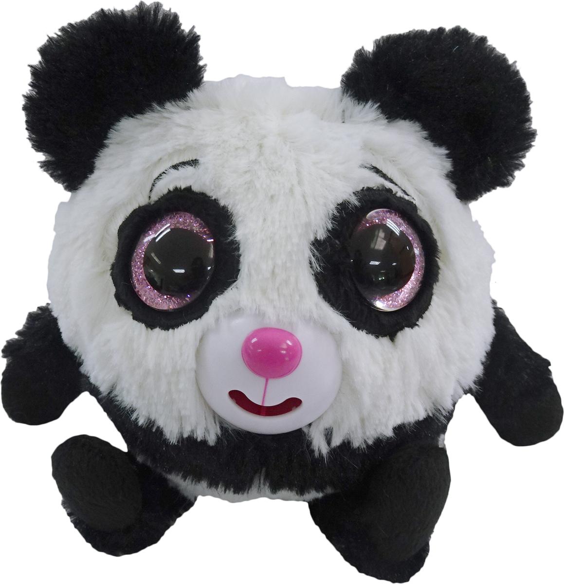 1TOYМягкая озвученная игрушка Дразнюка-Zoo Панда 13 см 1toyмягкая озвученная игрушка дразнюка zoo лисичка 13 см