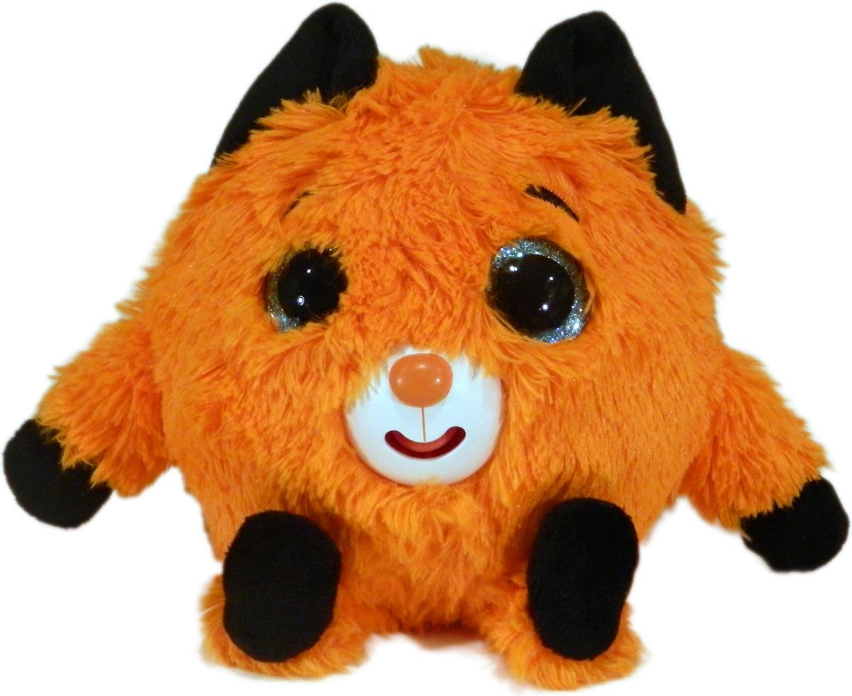 1TOYМягкая озвученная игрушка Дразнюка-Zoo Лисичка 13 см 1toyмягкая озвученная игрушка дразнюка zoo лисичка 13 см