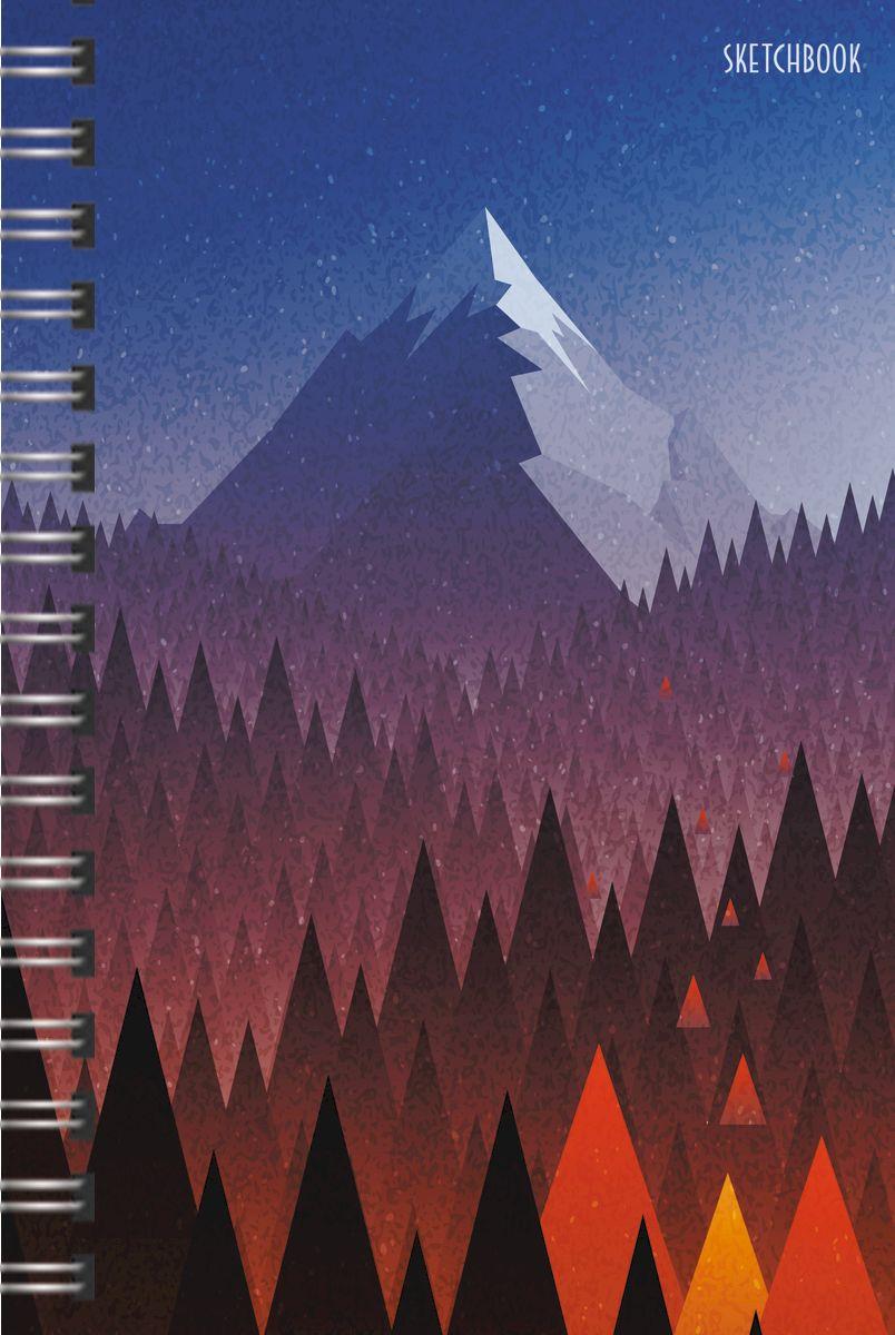 Listoff Скетчбук Горная долина 100 листов