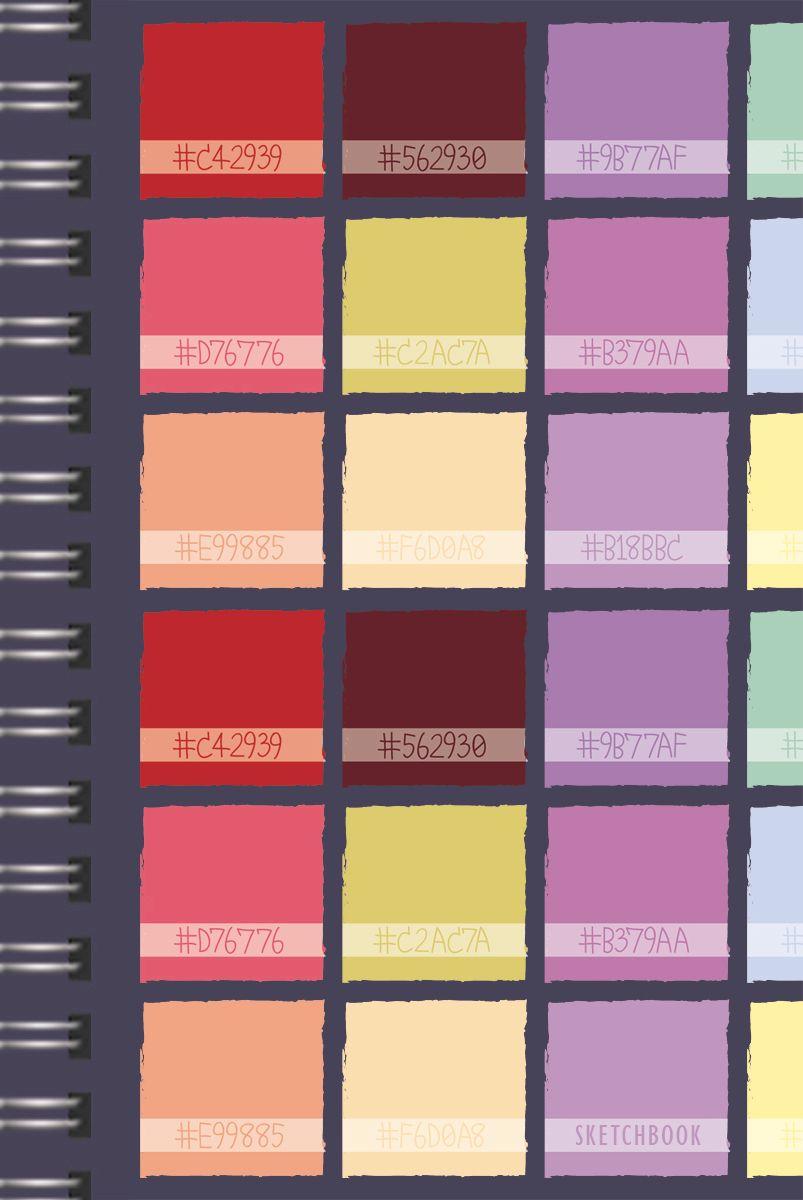 Listoff Скетчбук Цветовой калейдоскоп 100 листов