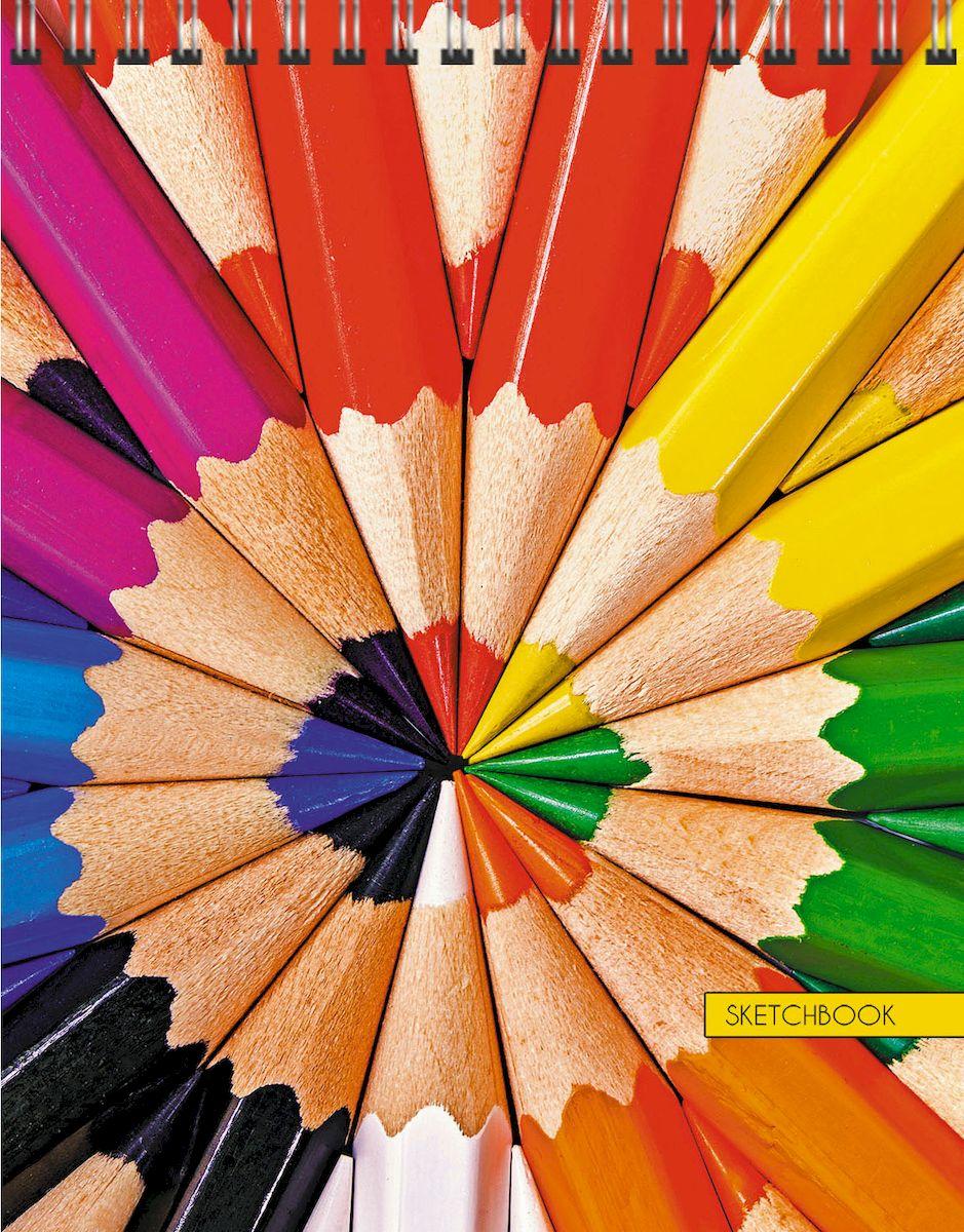 Listoff Скетчбук Любимая палитра 80 листов