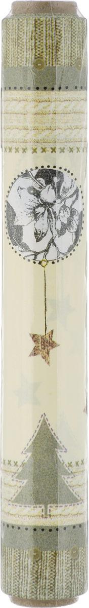 Скатерть Duni Tete-a-Tete 3 in 1, в рулоне, цвет: зеленый, 40 x 480 см скатерть duni sun flower 84х84 см