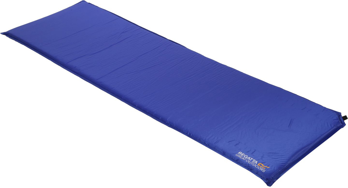 Коврик туристический самонадувающийся Regatta Napa 3 Mat, цвет: темно-синий, 185 x 55 x 3 см коврик туристический самонадувающийся двуспальный larsen camp ht012