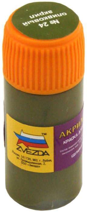 """Акриловая краска для моделей """"№24: Оливковый"""""""