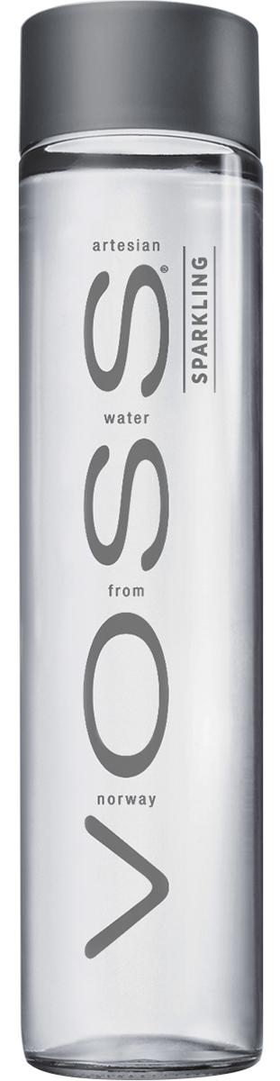 Voss Вода газированная питьевая природная артезианская первой категории, 0,375 л