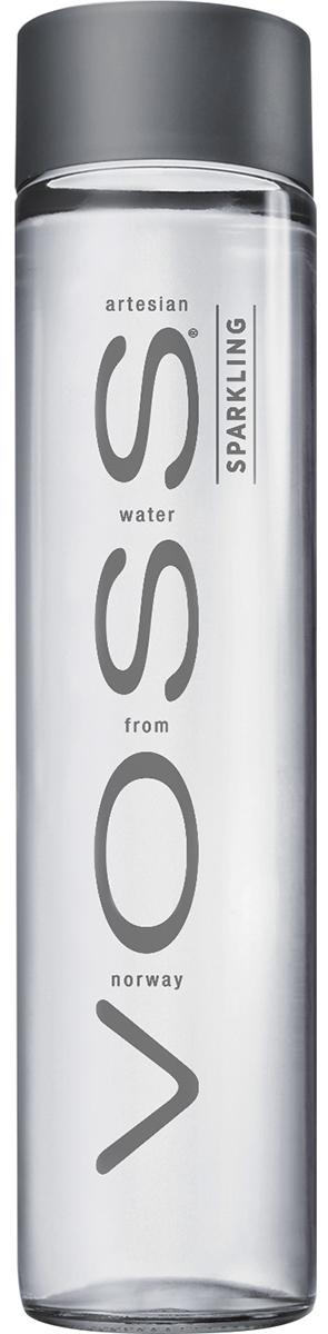 Voss Вода газированная питьевая природная артезианская первой категории, 0,8 л