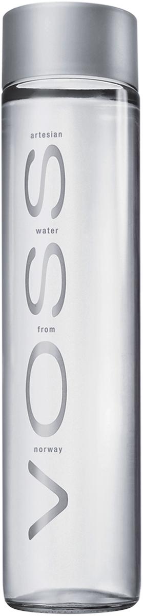 Voss Вода негазированная питьевая природная артезианская первой категории, 0,375 л
