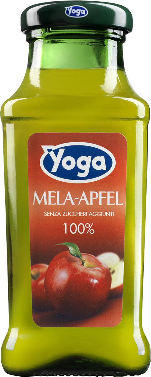 Yoga Сок яблочный восстановленный фруктовый, 0,2 л