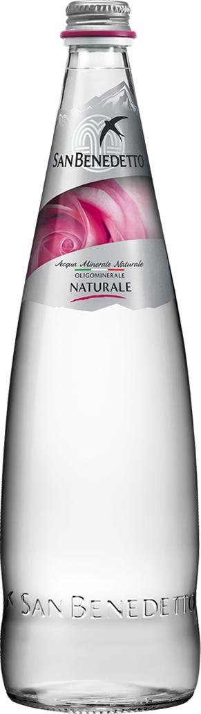 San Benedetto Вода негазированная минеральная природная питьевая столовая, 0,75 л, стекло