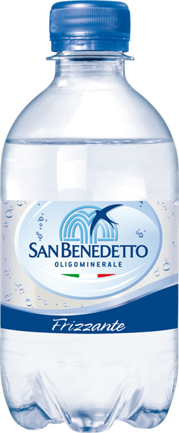 San Benedetto Вода газированная минеральная природная питьевая столовая, 0,33 л