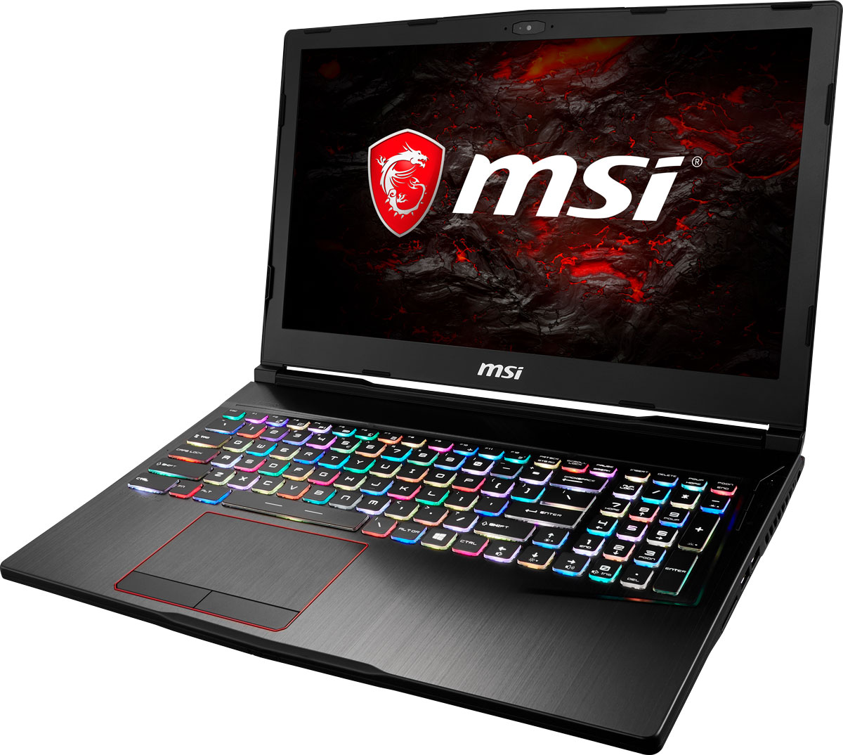 Игровой ноутбук MSI GE63 Raider RGB 8RE, 9S7-16P512-211, 15.6, черный msi ge63 8re 211xru raider rgb edition black