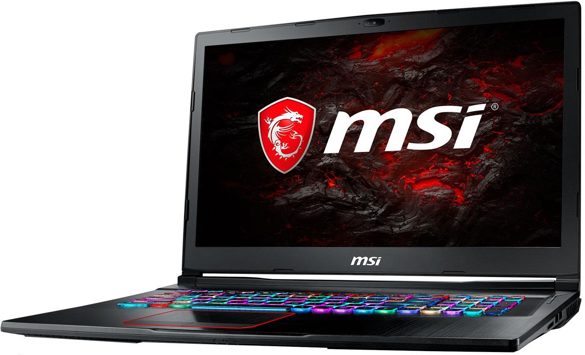 """17.3"""" Игровой ноутбук MSI GE73 Raider RGB 8RE 9S7-17C512-097, черный"""