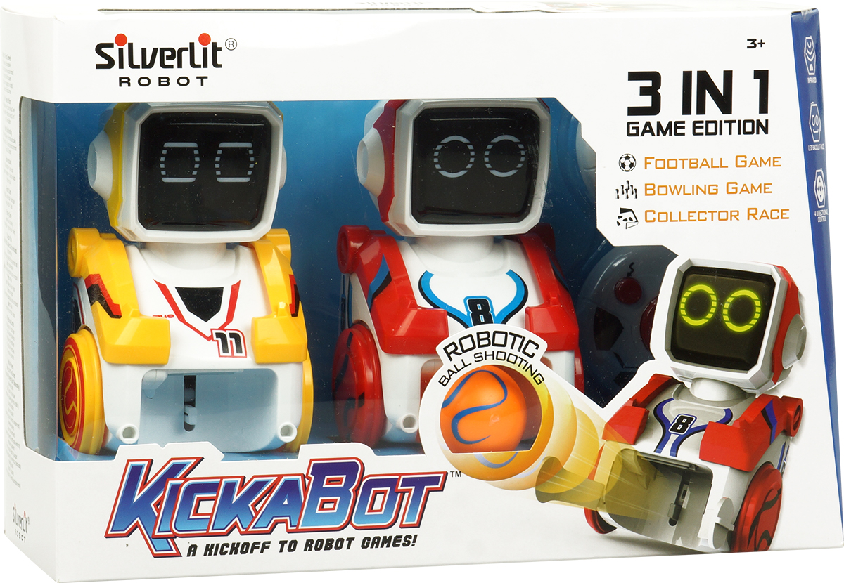 Silverlit Робот футболист Кикабот Двойной набор