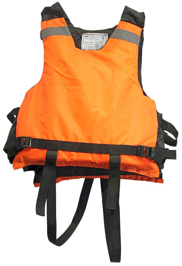 Жилет страховочный Таежник Поплавок-1, детский, цвет: оранжевый