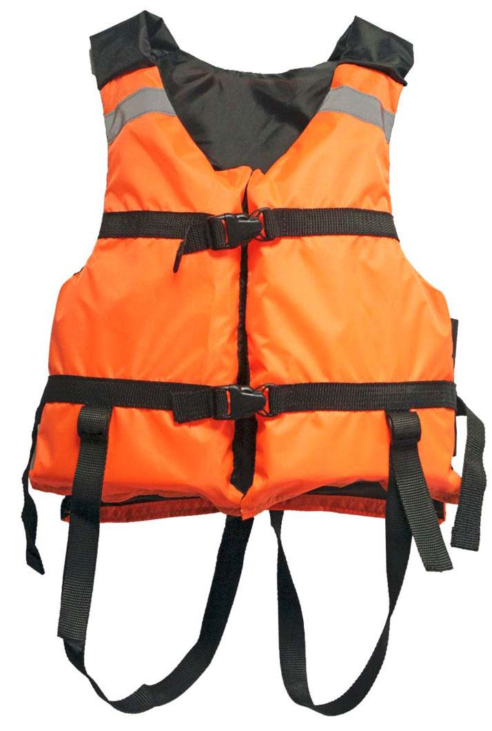Жилет страховочный Таежник Поплавок-2, детский, цвет: оранжевый