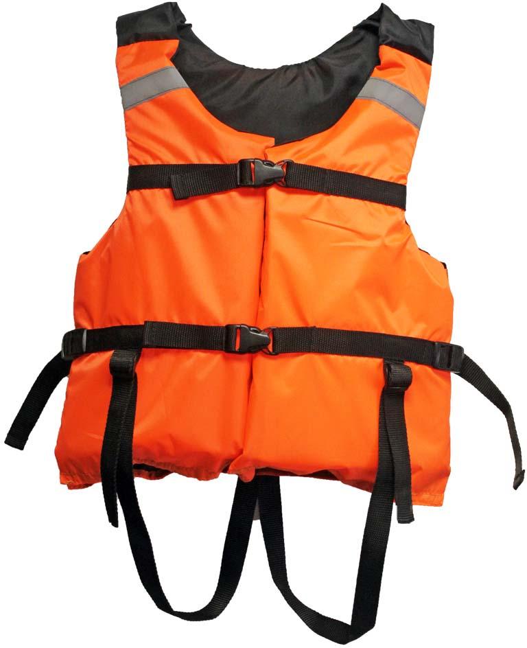 """Жилет страховочный """"Поплавок-2"""", цвет: оранжевый. Размер 40-42"""