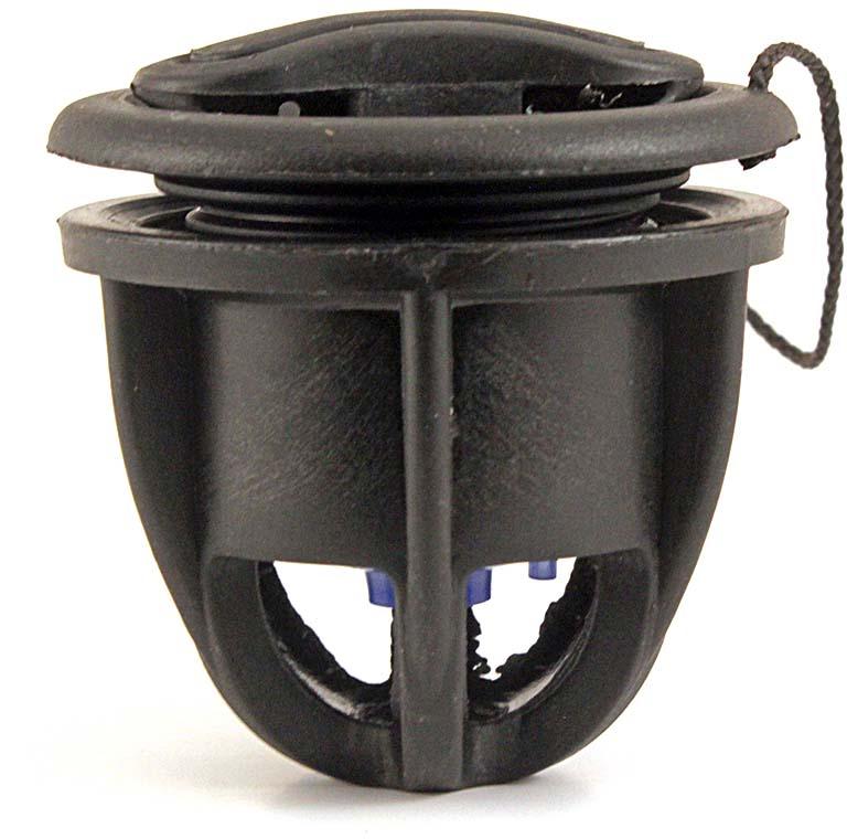 """Клапан для лодки ПВХ """"Тонар"""", цвет: черный"""