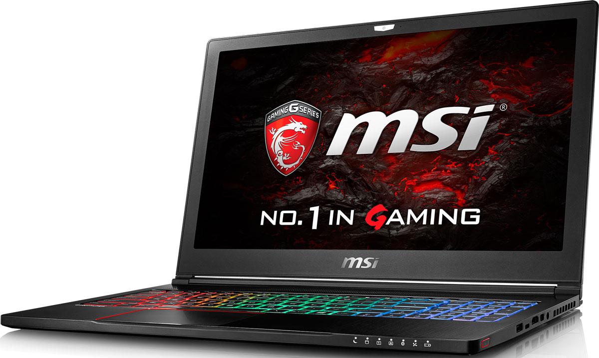 """15.6"""" Игровой ноутбук MSI GS63 Stealth 8RE 9S7-16K512-021, черный"""