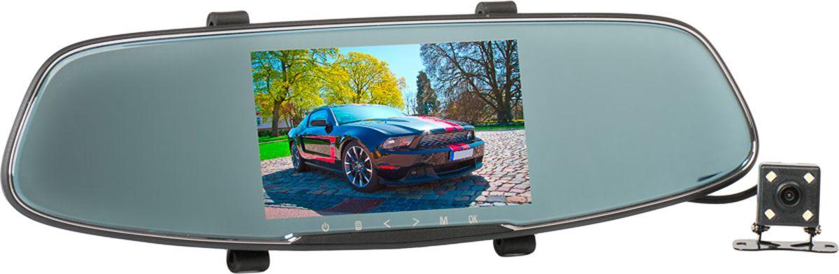 Slimtec Dual M3, Black видеорегистратор видеорегистратор зеркало slimtec dual m7