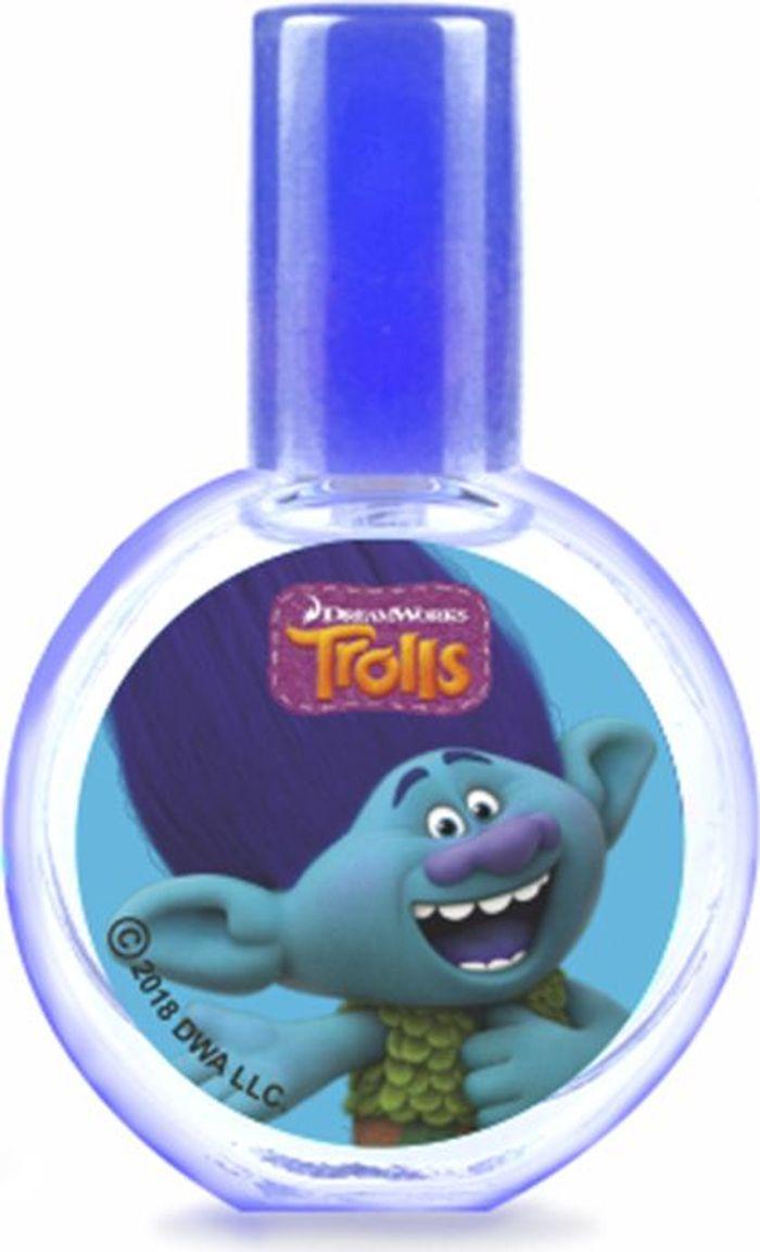 Trolls Детская душистая вода Цветан, 23 мл фигурки героев мультфильмов trolls коллекционная фигурка trolls в закрытой упаковке 10 см в ассортименте