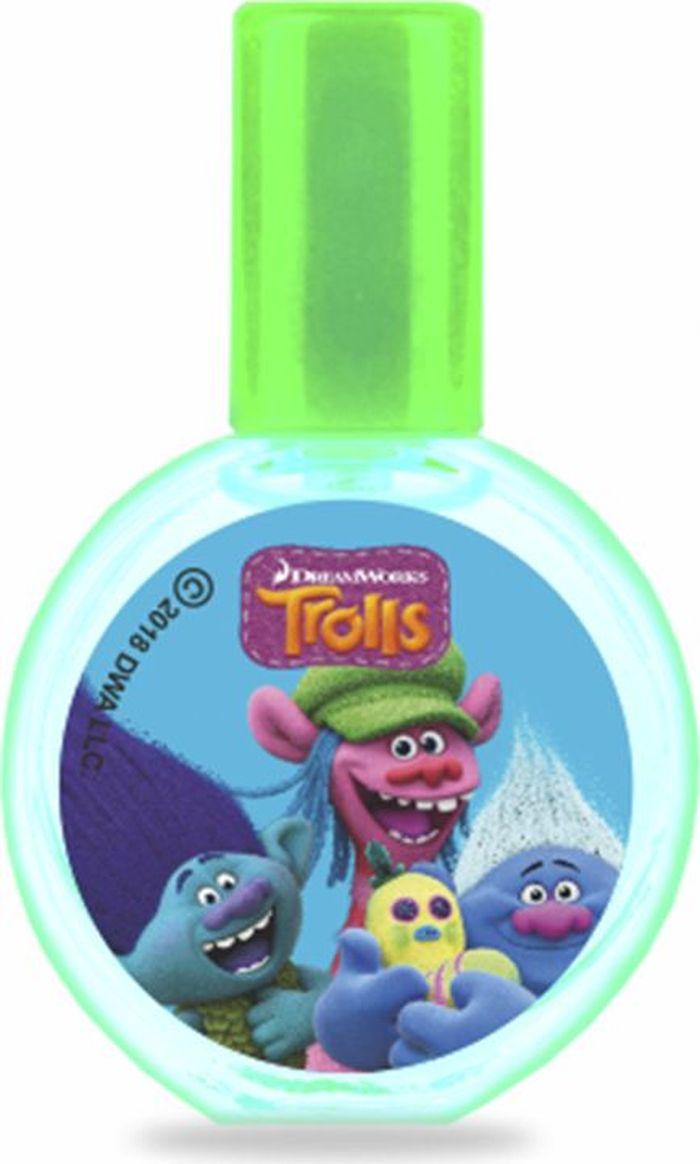 Trolls Детская душистая вода Вечеринка, 23 мл фигурки героев мультфильмов trolls коллекционная фигурка trolls в закрытой упаковке 10 см в ассортименте