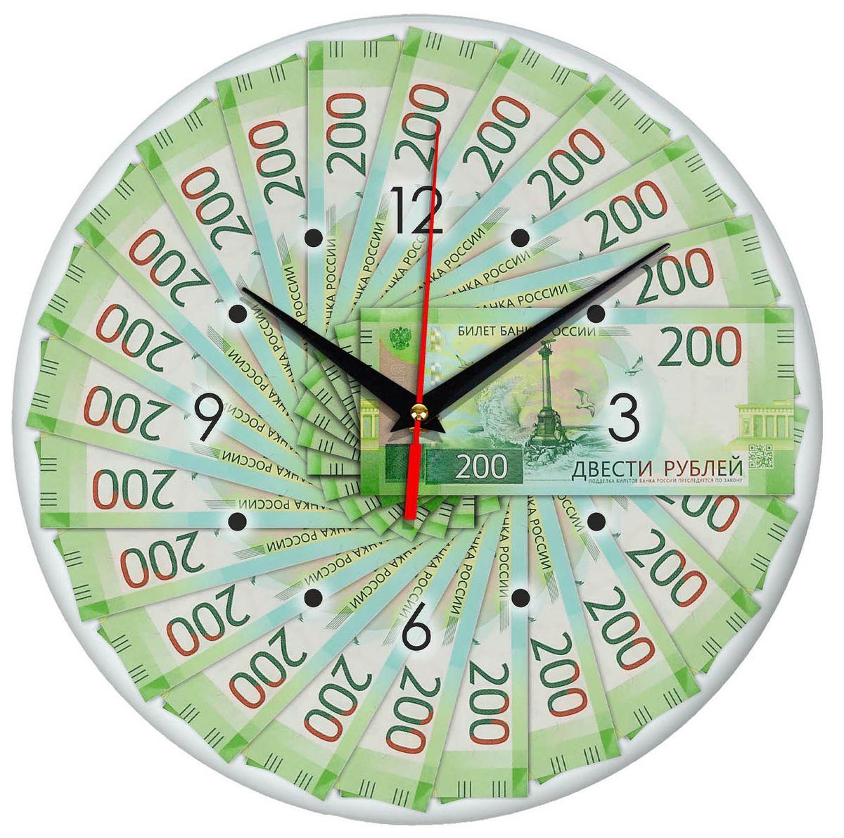 лучшая цена Часы настенные Эврика